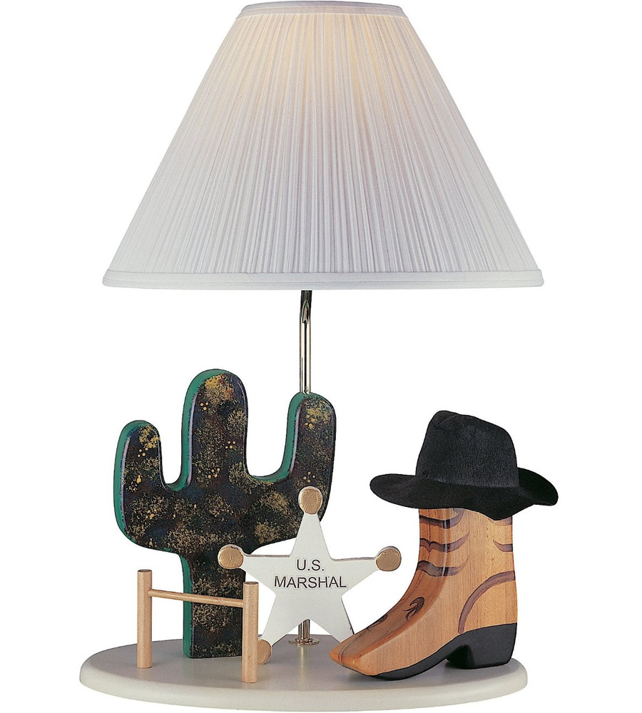 Table Lamps For Kids Cowboy Kids Table Lamp In Kids Lamps