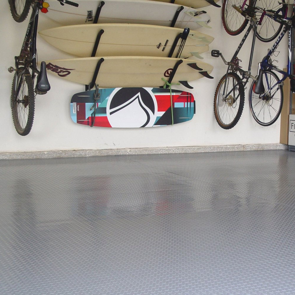 2 Car Garage Floor Mat Diamond Deck In Auto Exec Mobile Office