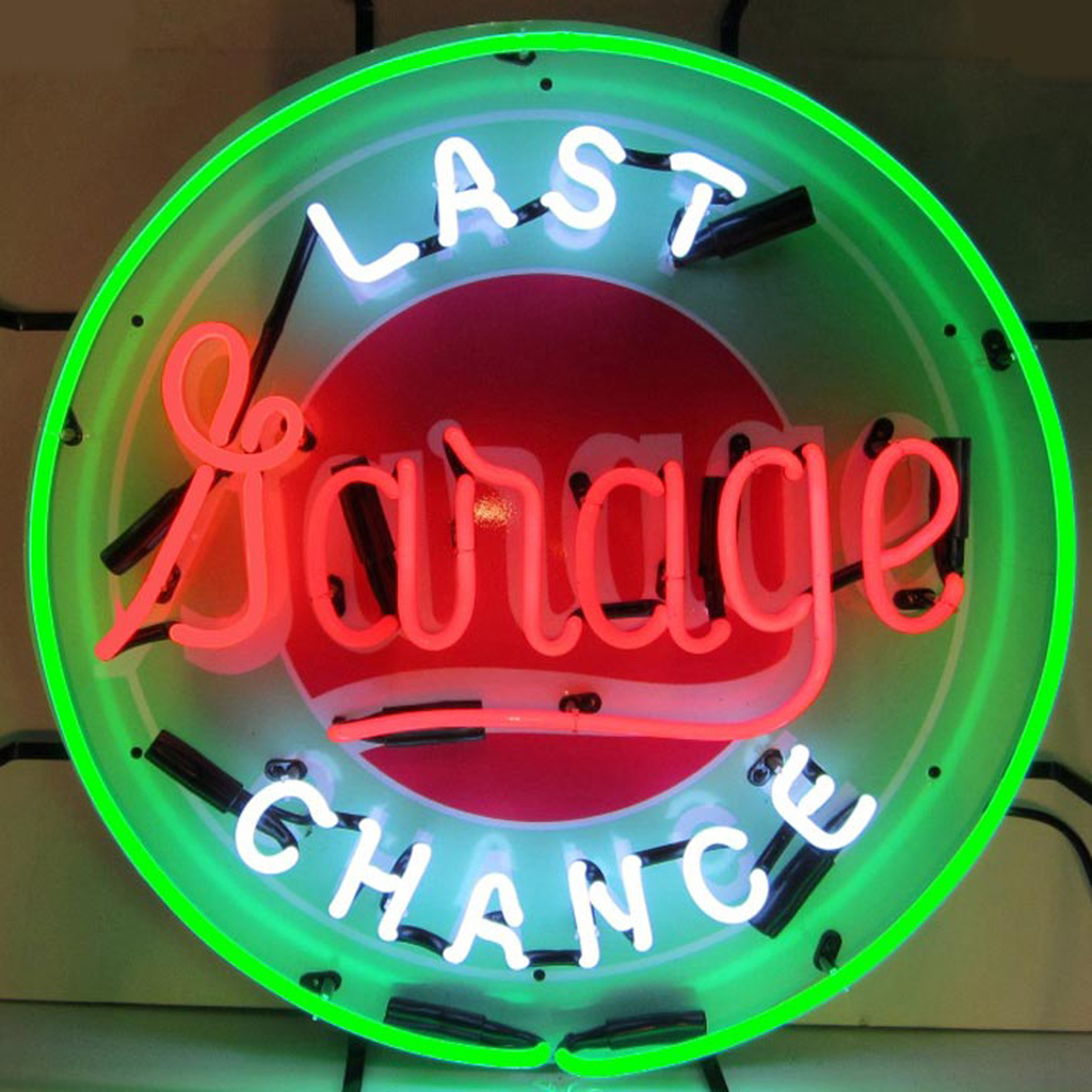Garage Art Neon Signs Last Chance Garage Neon Sign By Neonetics In Neon Signs