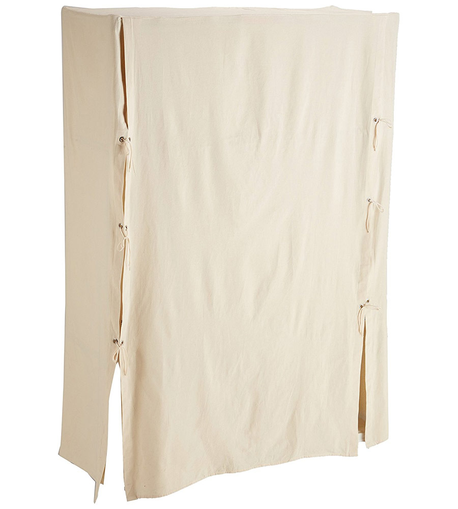 Closet Depth Metro Canvas Wardrobe Cover In Clothing Racks And Wardrobes
