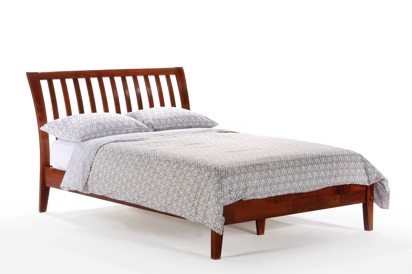 Queen Beds Online Queen Nutmeg Platform Bed By Night And Day Furniture
