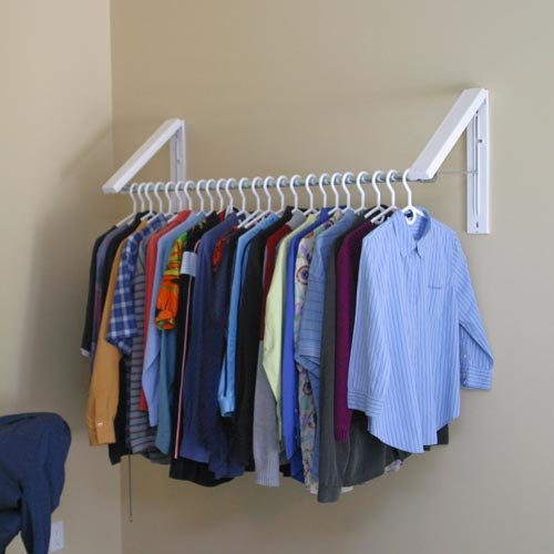 Clothes Storage Systems Quikcloset - Clothes Storage Solution In Hanger Valets