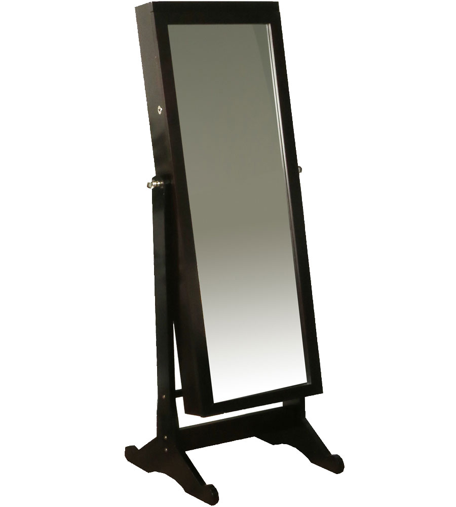 Standing Mirror Standing Mirror Jewelry Armoire In Jewelry Armoires