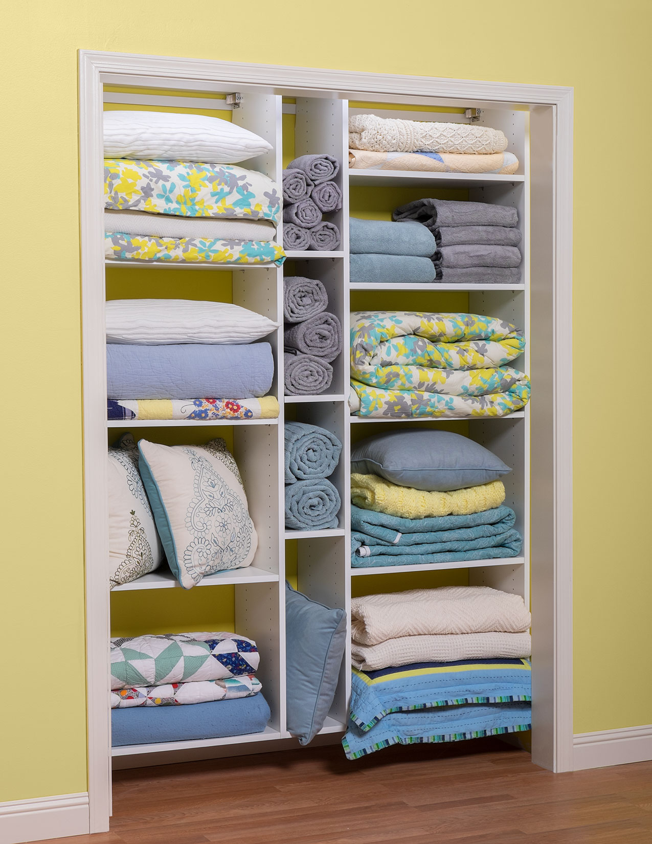 Linen Closet Organizer Systems Utility Room Storage And Closet Cabinets Organizers Direct