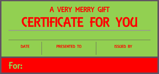 8 gifts recommended by a professional organizer that keep clutter away - christmas gift certificate template free