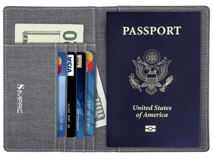 No Closet Space Solutions Rfid Blocking Wallet - Organize Your Life
