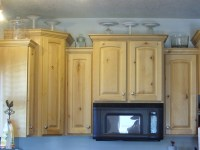 Decorating the Top of the Kitchen Cabinets - Organize and ...