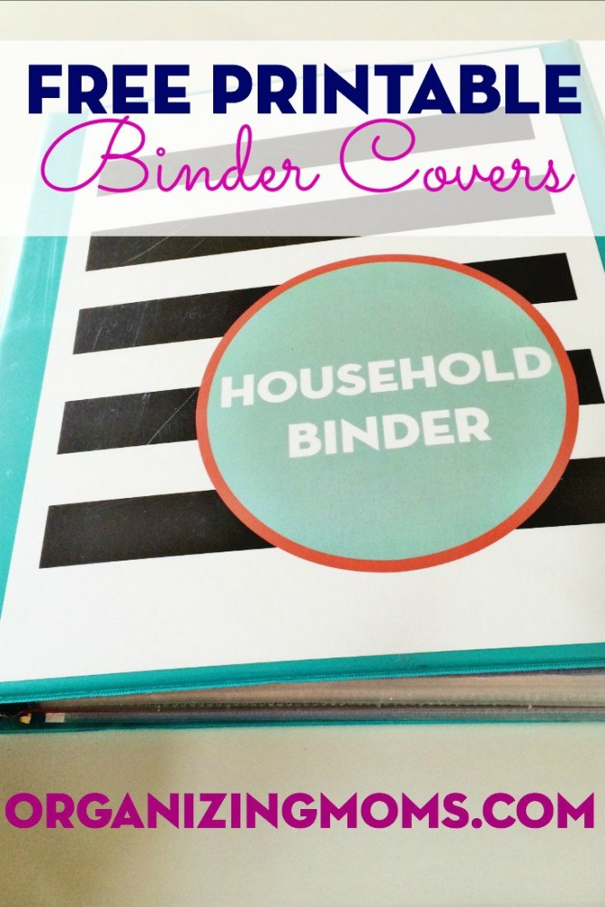 Covers for Organizing Binders