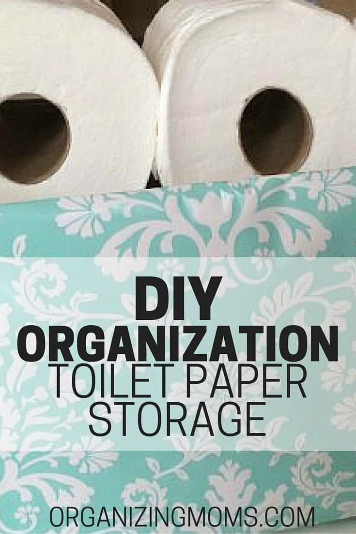 Covered Toilet Paper Storage Diy Organization Toilet Paper Storage Organizing Moms