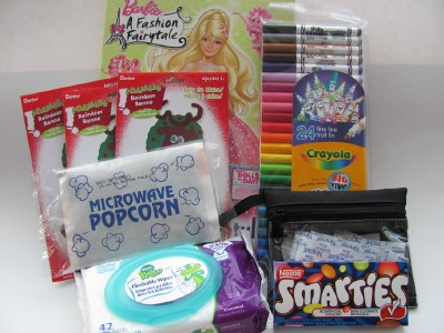 Babysitter Bag + Note Sheet Printable -