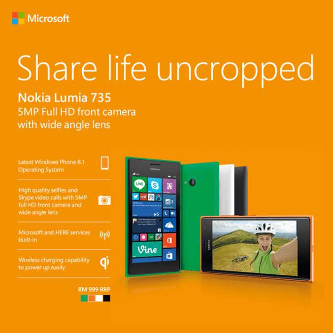 lumia 735 launch