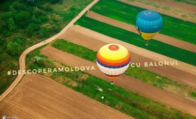Zbor cu balonul orheianca descopera moldova