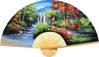 Oriental Wall Fans :: Japanese Autumn