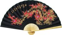 Asian Wall Fans :: Black Sakura