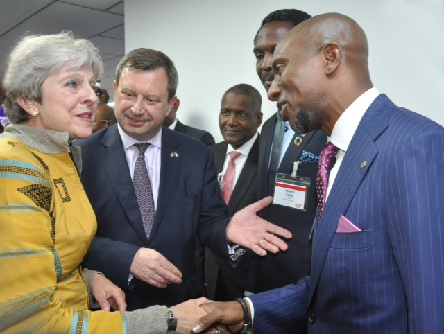 NSE Photo News Business Networking Event Hosted by the British High - formal event