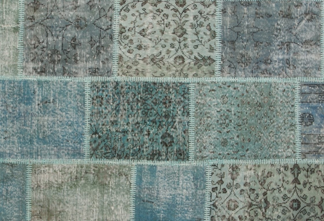 Tappeti Vintage Patchwork Tappeto Vintage Patchwork Azzurro