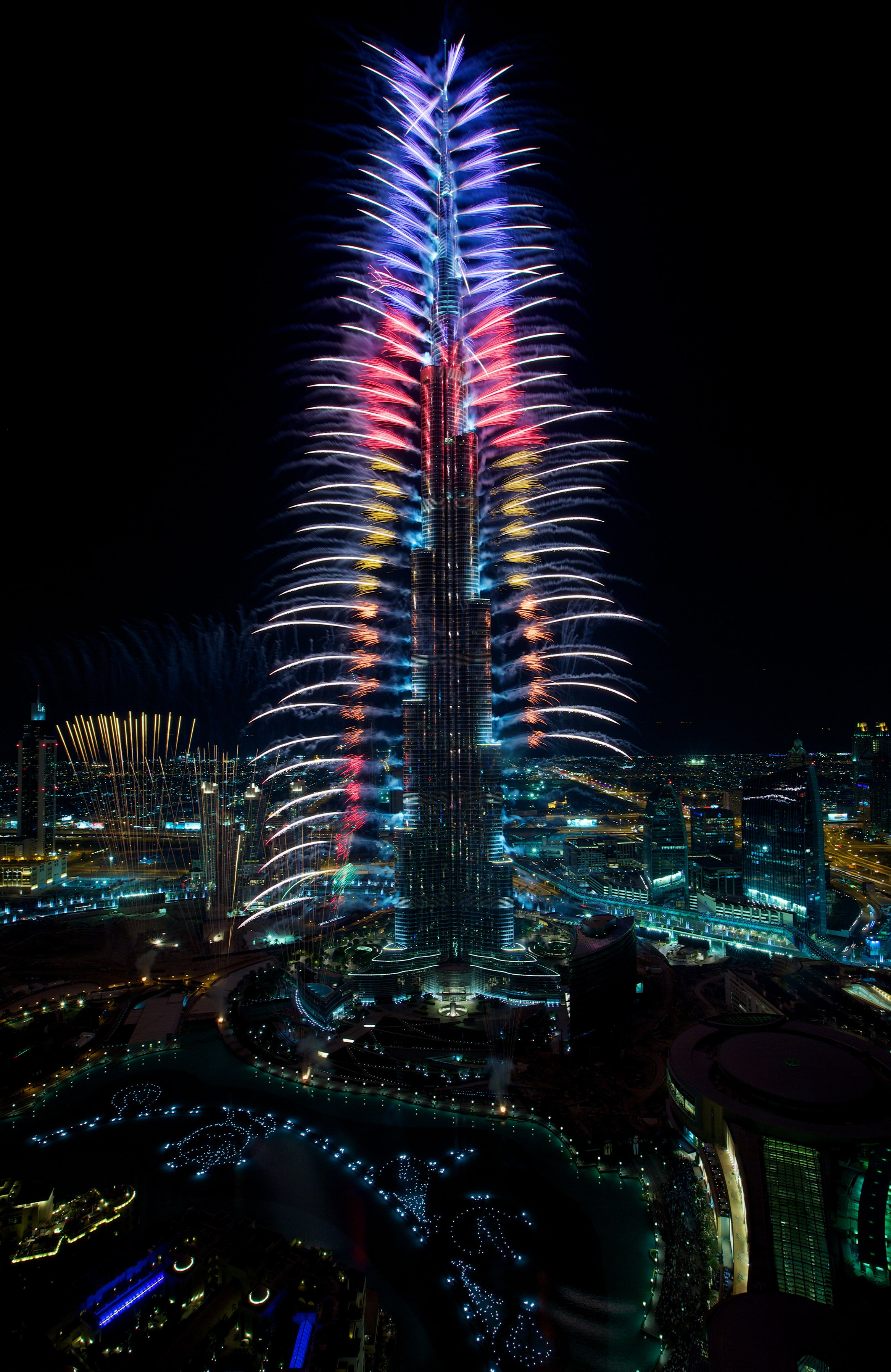 Hd Wallpaper Diwali Light Dubai S Skyline Of Icons Light Up To Celebrate The End Of