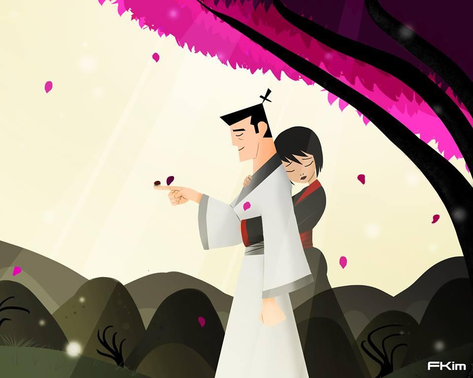 Japanese Samurai Girl Wallpaper Samurai Jack Season 5 Alternate Ending Spoilers By