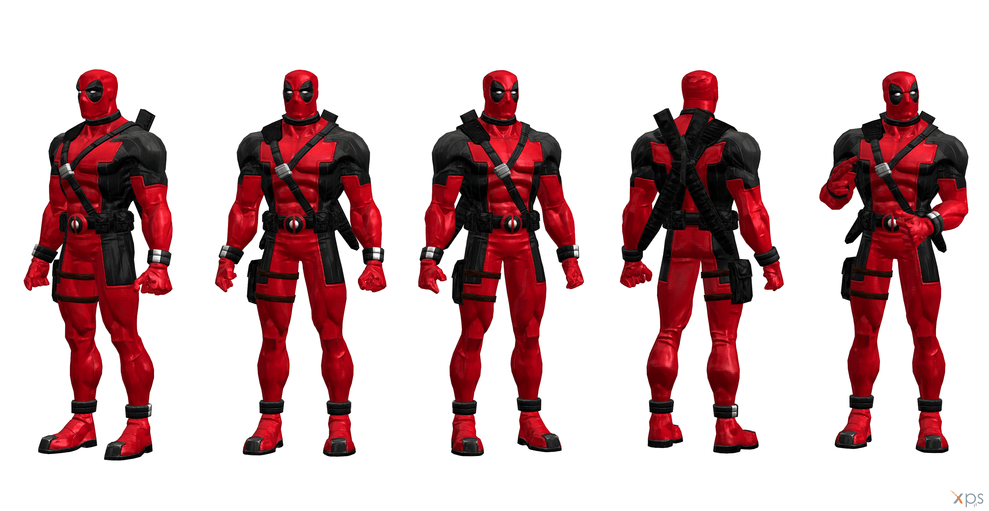 Animated Girl Wallpaper Free Download Deadpool Movie Costume Coc Modified By Ssingh511 On