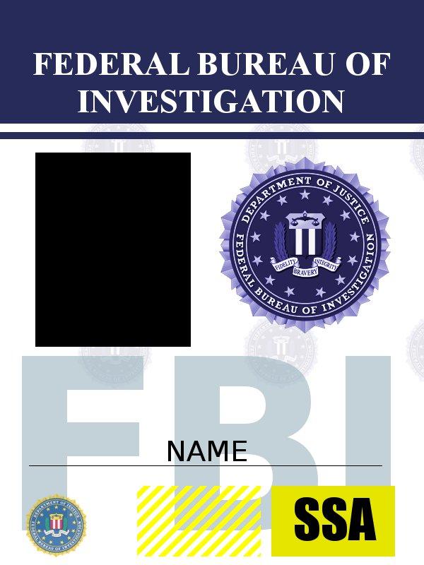 FBI ID template by requiem-at-saturday on DeviantArt