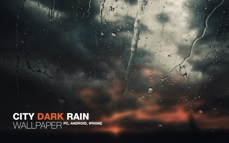 Wallpaper Iphone 5 Full Hd City Dark Rain Wallpaper By Martz90 On Deviantart