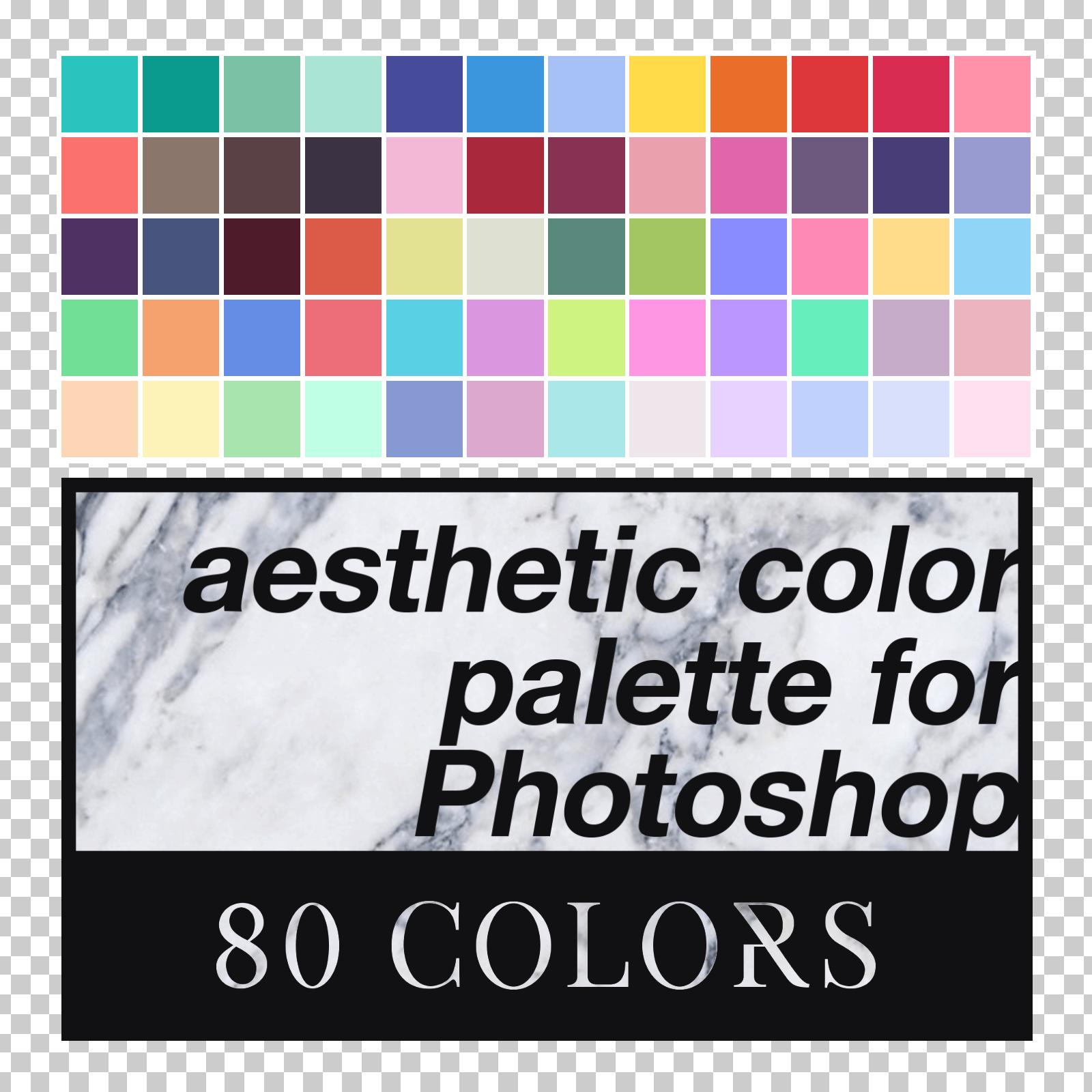 aesthetic color palette