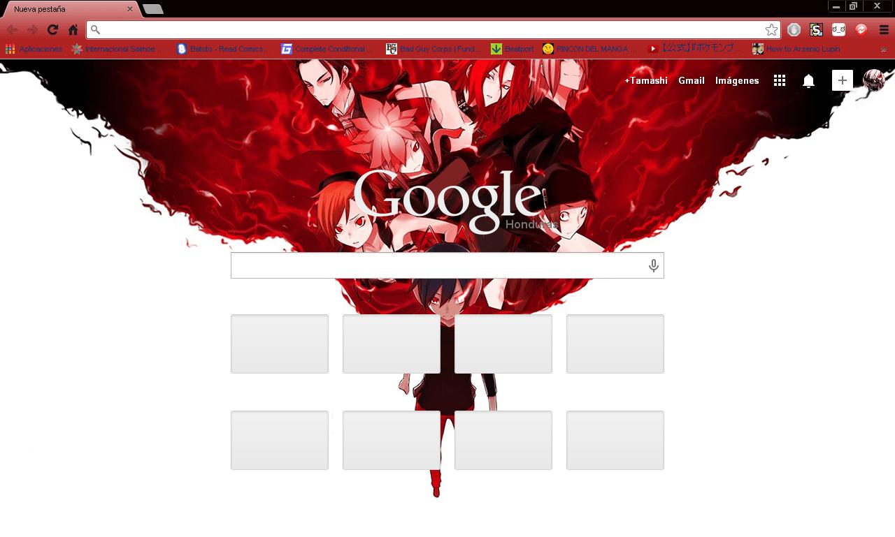 Smt devil survivor overclocked google chrome theme by hellfrenzy