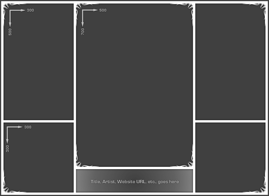 Photo Collage Template 02 by Neyjour on DeviantArt