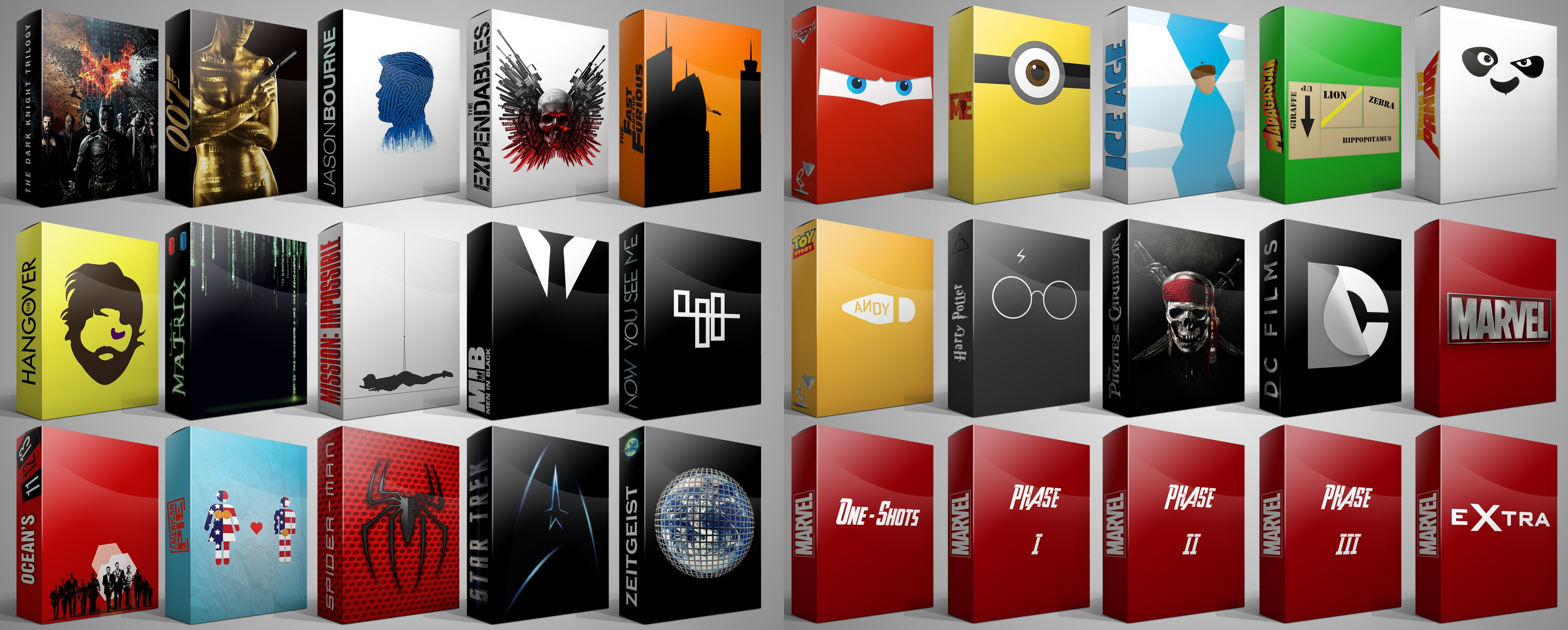 The Fast And The Furious Cars Wallpaper Collection Movies Series Box Set Folder Icons By Drac 69 On Deviantart