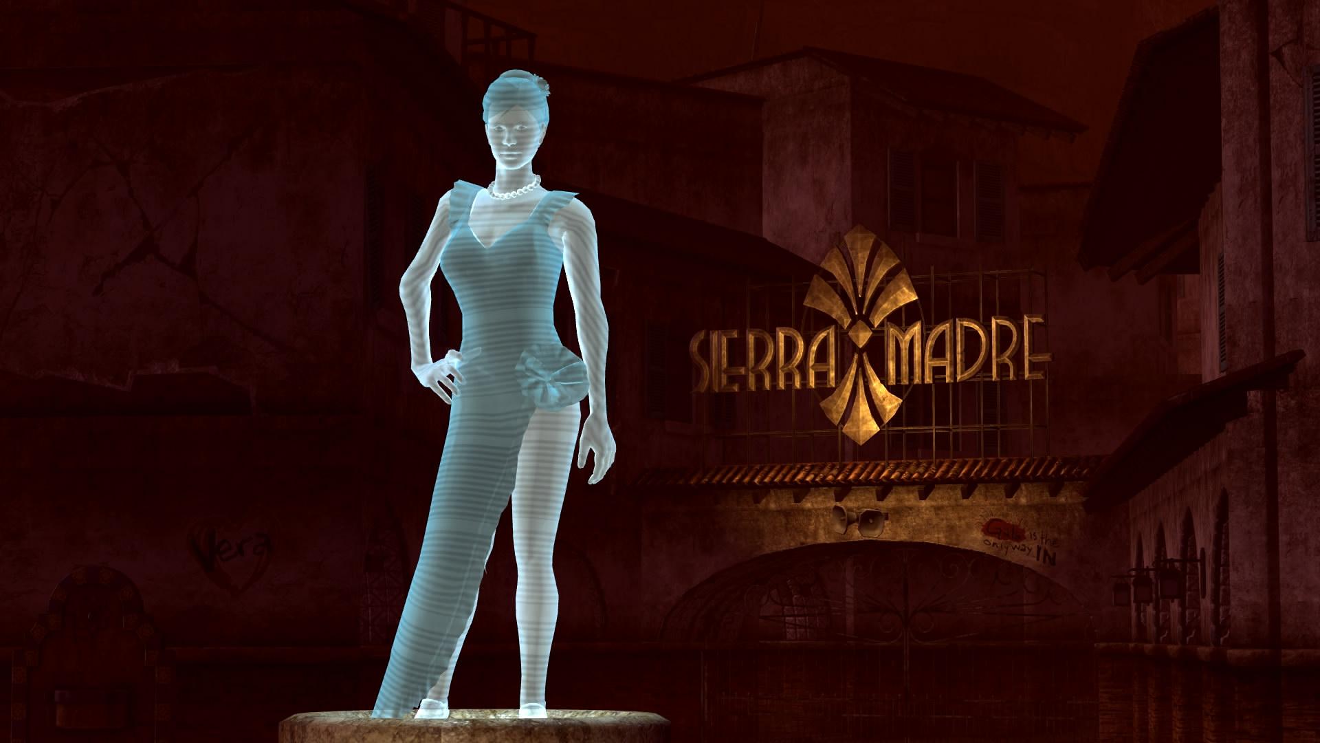 3d Hologram Wallpaper App Fallout New Vegas Sierra Madre Dreamscene By Droot1986 On