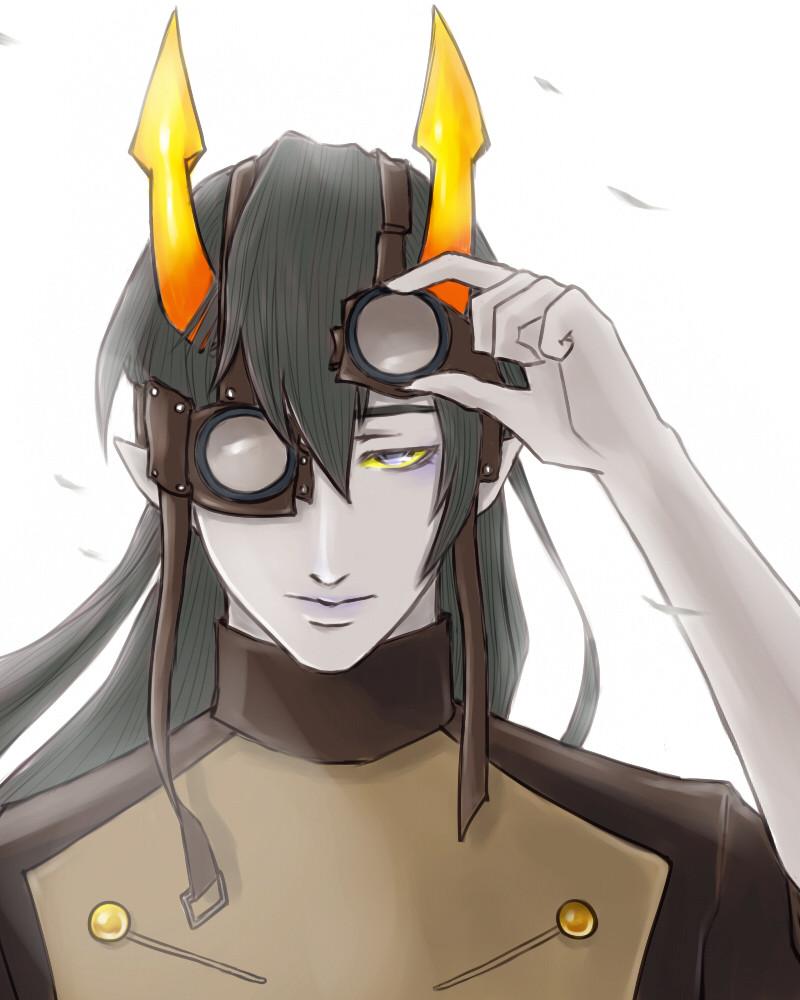 Anime World Wallpaper Homestuck X Reader Dark Horse Horuss By Wildgirl509 On