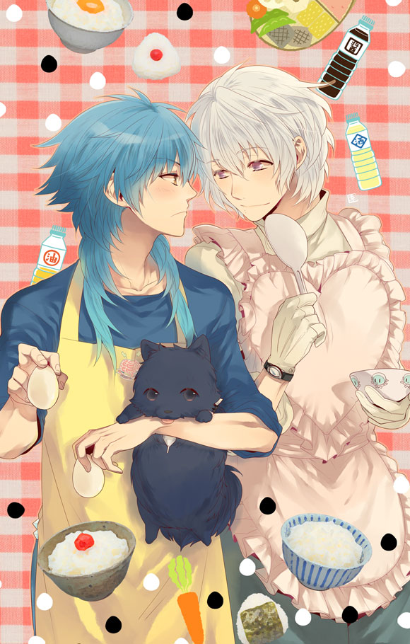 Hustle Hard Girl Wallpaper Dmmd Aoba X Clear Master S Cooking By Pikablaze On
