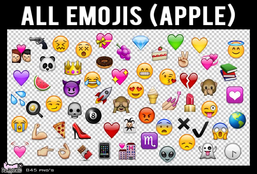 Hd Wallpaper Pack Free Download Rar All Emojis Apple Png By Sa By Shaffiqazman On Deviantart