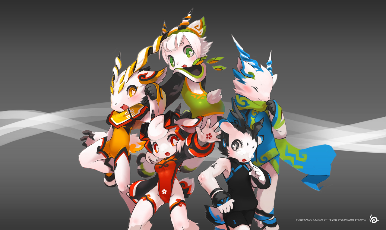 Cyber Girl Wallpaper Goats Of The 16th Asian Games By Tysontan On Deviantart