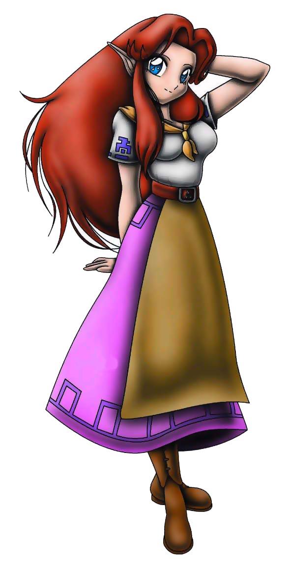 Zelda Ocarina Of Time 3d Wallpaper Legend Of Zelda Seven Minutes In Heaven Malon By