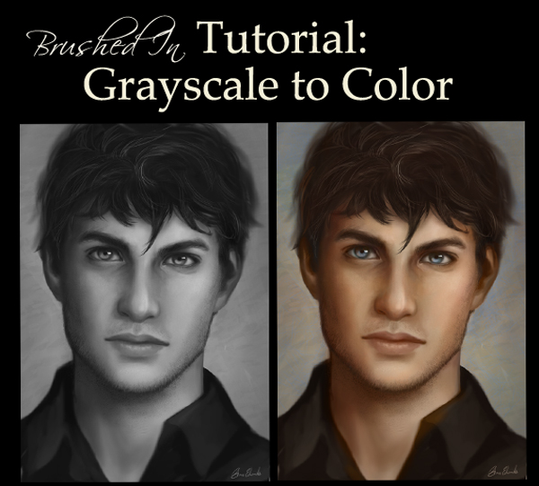 Grayscale to Color painting Tutorial by feavre on DeviantArt
