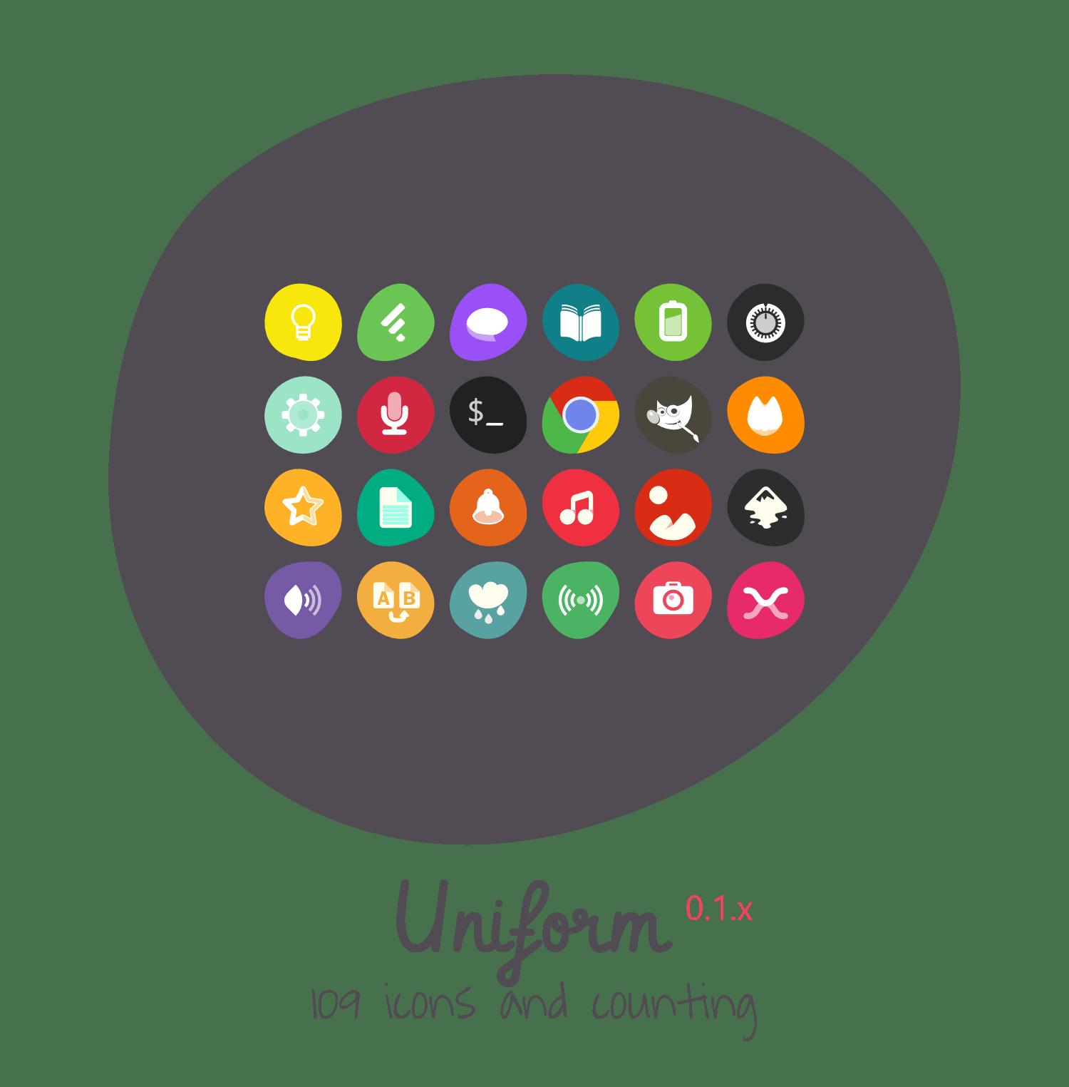 3d Art Mobile Wallpaper Uniform Icon Theme By 0rax0 On Deviantart