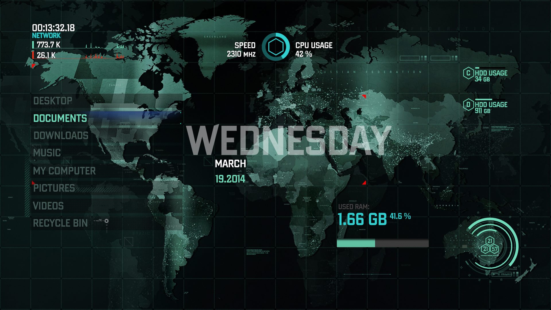 Mw3 3d Wallpapers Strategic Mission Interface By Dart A On Deviantart
