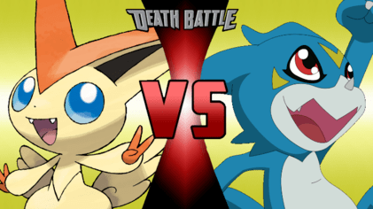 What Is Falling Action Of The Yellow Wallpaper Victini Vs Veemon Death Battle By V Create On Deviantart
