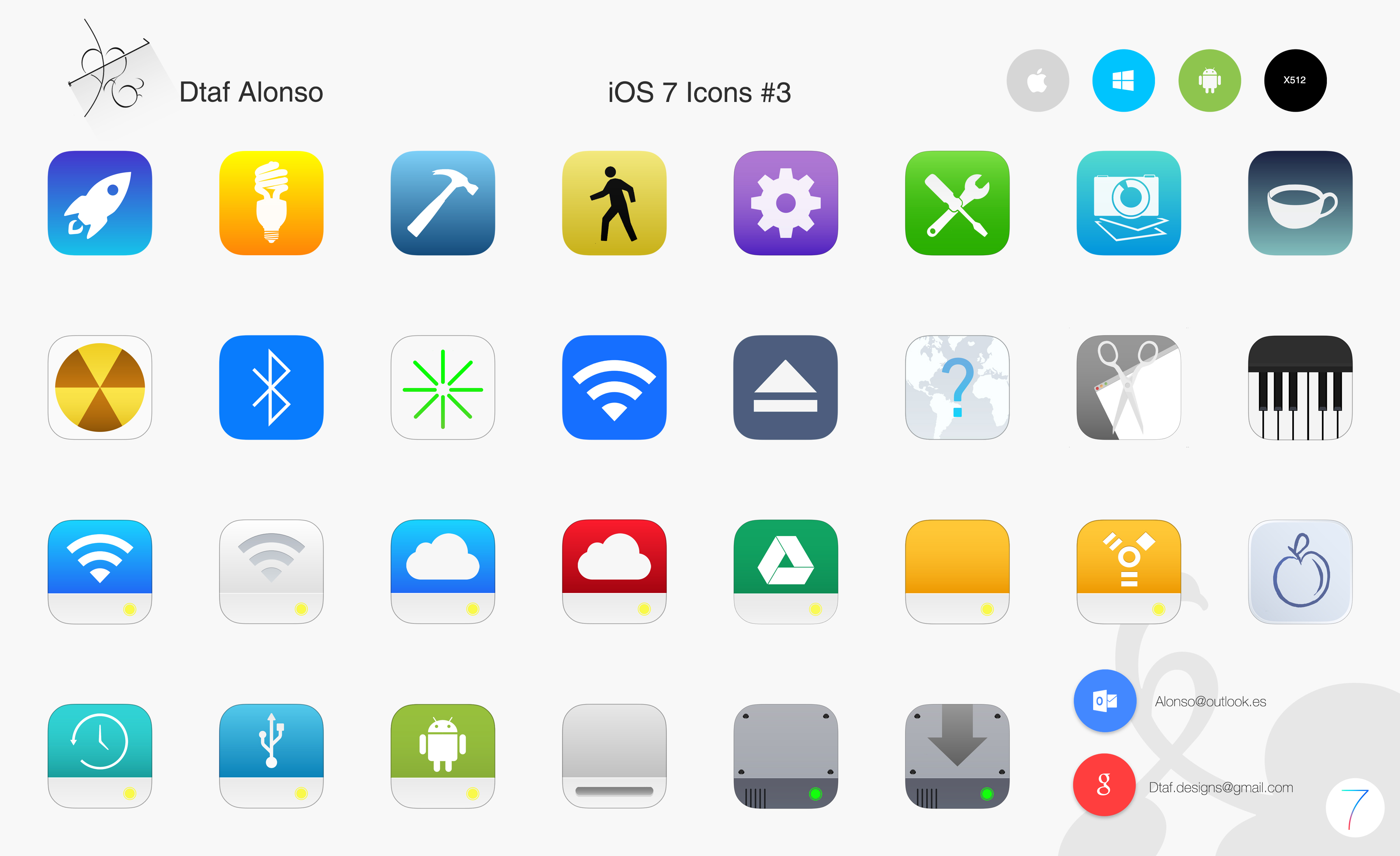 New 3d Wallpaper For Mobile Phone Ios 7 Icons 3 By Dtafalonso On Deviantart
