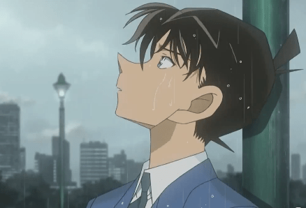 Sad Anime Girl Crying In The Rain Wallpaper Shinichi Kudo X Reader I M Alive Because Of You By
