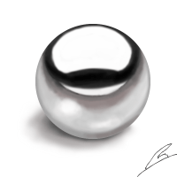 Metal ball by borockman on DeviantArt