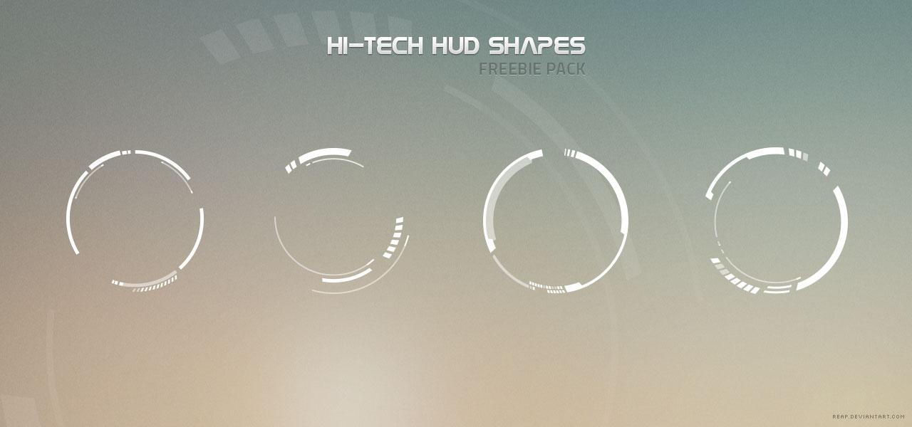 Money Wallpaper Hd Hi Tech Hud Shapes Freebie Pack By Reap On Deviantart
