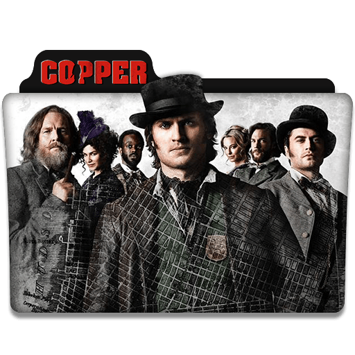 Copper Serie Copper : Tv Series Folder Icon By Dyiddo On Deviantart