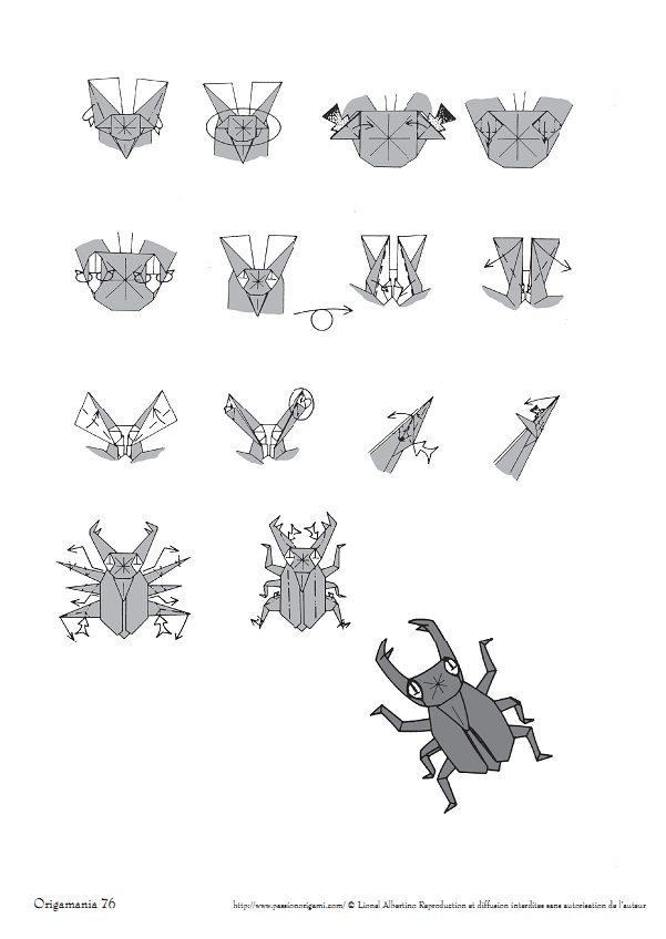quite complex origami diagrams