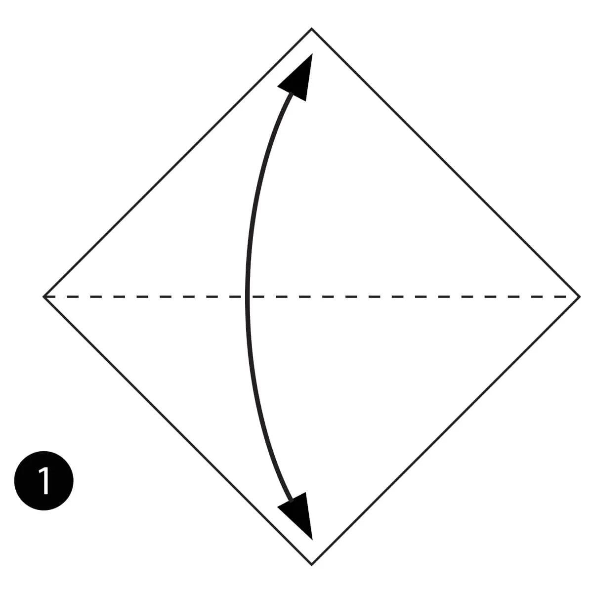 origami mouse diagram