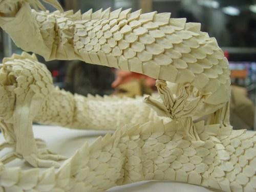 Origami Dragon Christmas Origami Easy