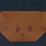 いぬの折り紙その2