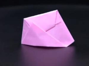 ぼうしの折り紙