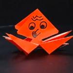 たこの折り紙
